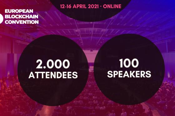 SPBA PARTNER EVENT: EUROPEAN BLOCKCHAIN CONVENTION APRIL 12-16 2021 (ONLINE)